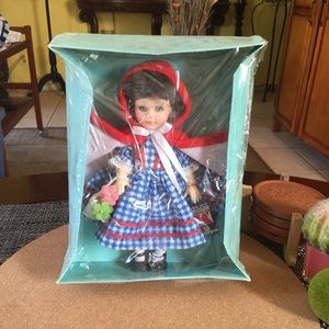 Vintage 1960s Riding Hood Doll by John Kehagisas